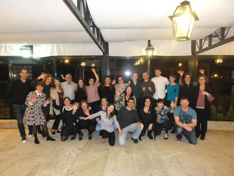Portuguese and Irish group cultural evening